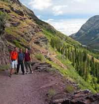 Glacier National Park Gay Adventure Tour