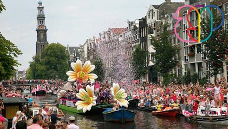 Amsterdam morning gay