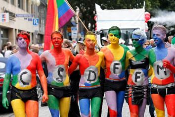 young gay men free