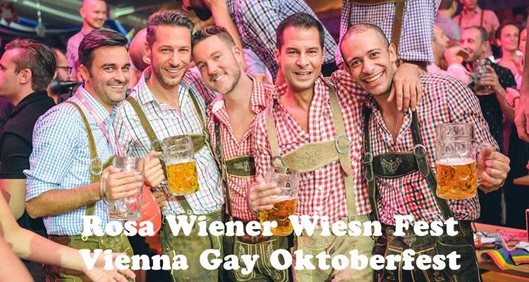 Wiesn gay Pink Wiener