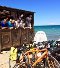 Italy Puglia  Gay Bike Tour