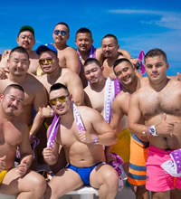Japan Gay Bears Beach Tour