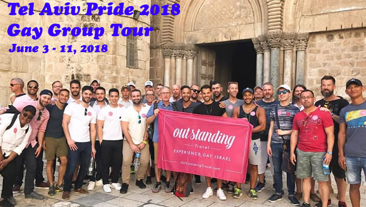 Why not celebrate your pride with us in Israel in one of the proudest Gay cities in the world