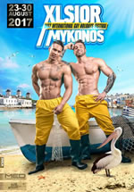 XLSior Mykonos 2017 gay travel package