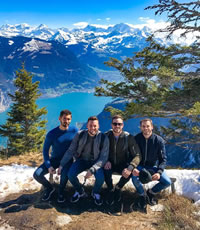 Switzerland gay adventure tour