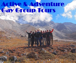 Active & Adventure gay group tours